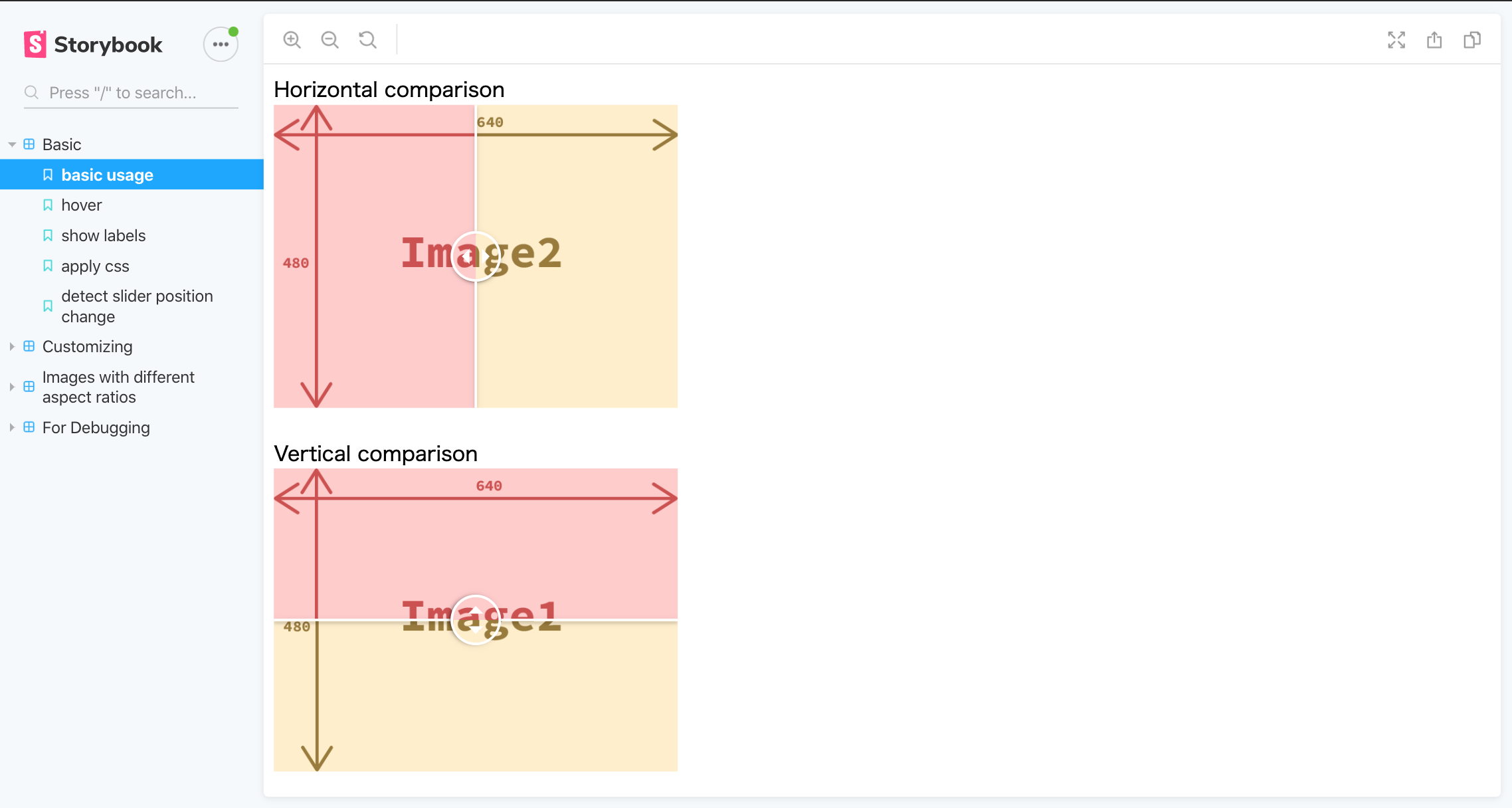 react-compare-image